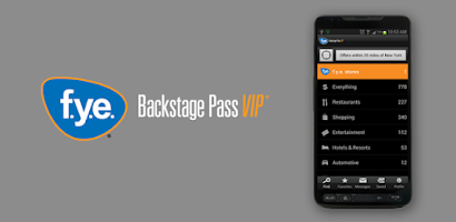 Dec 05, · FYE Backstage Pass VIP members can now enjoy discounts and savings through the convenience of a mobile app! Whether you're close to home or on the road, simply search for participating brands and locations on your mobile device and show the coupon at /5().
