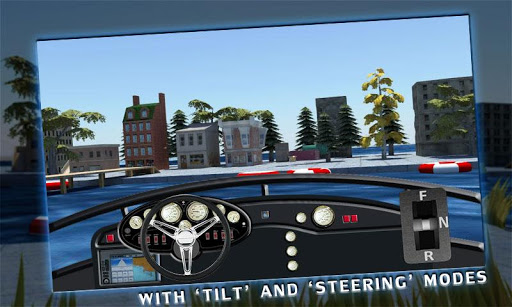 Boat Driving 3D Simulator