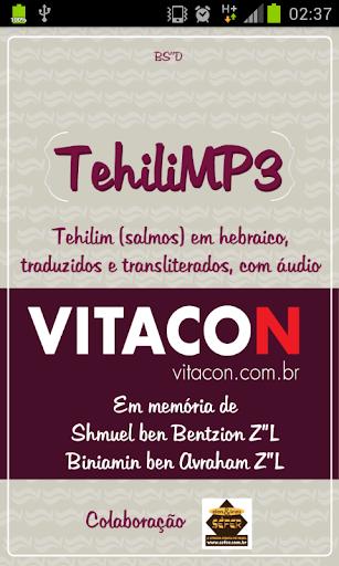 TehiliMP3 - Salmos com Áudio