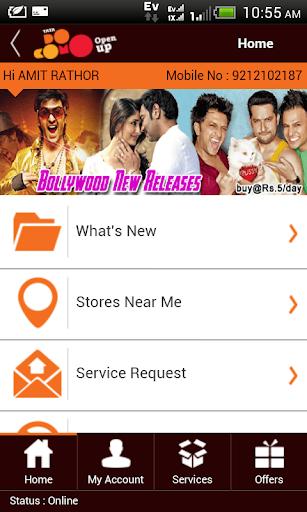 My Tata Docomo Selfcare app