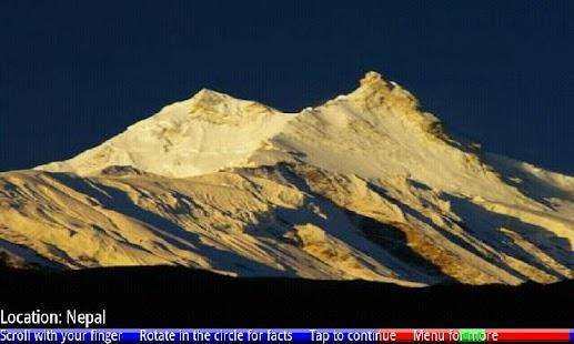 Top 10 Highest Mountains- screenshot thumbnail