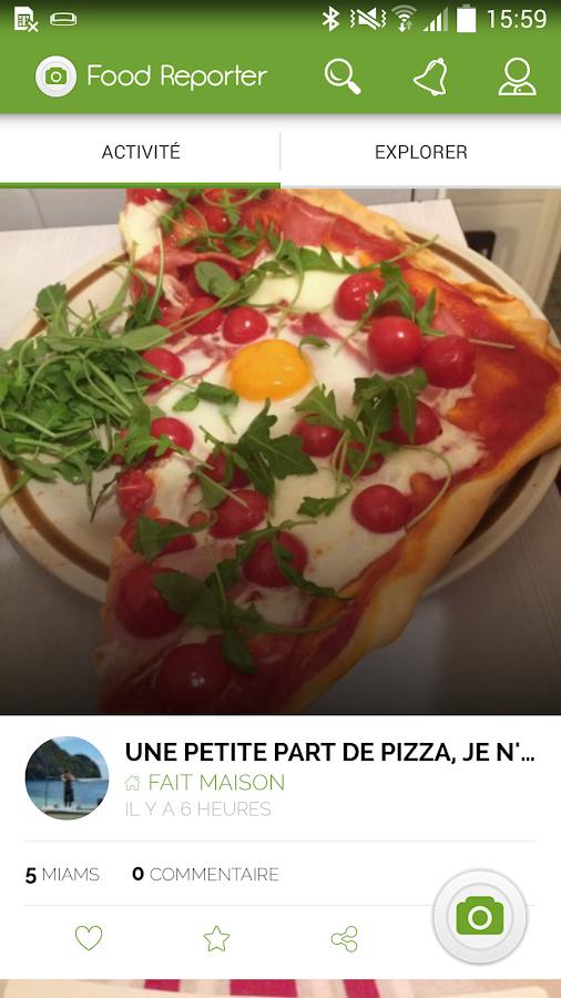 Food Reporter: cuisine,recette - screenshot