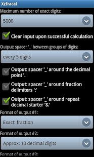 Exact Fraction Calculator - screenshot thumbnail