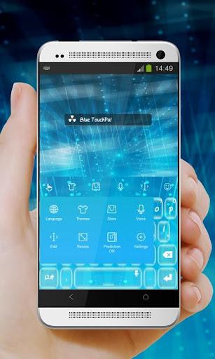 無料个人化Appのブルー TouchPal Theme|記事Game