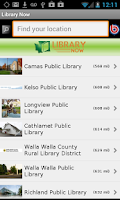 Screenshot of Washington State Library Now