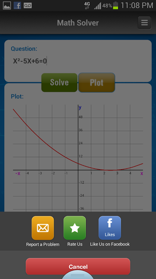 iKaes - Algebra & Math Solver- screenshot