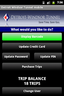 Detroit Windsor Tunnel Mobile- screenshot thumbnail