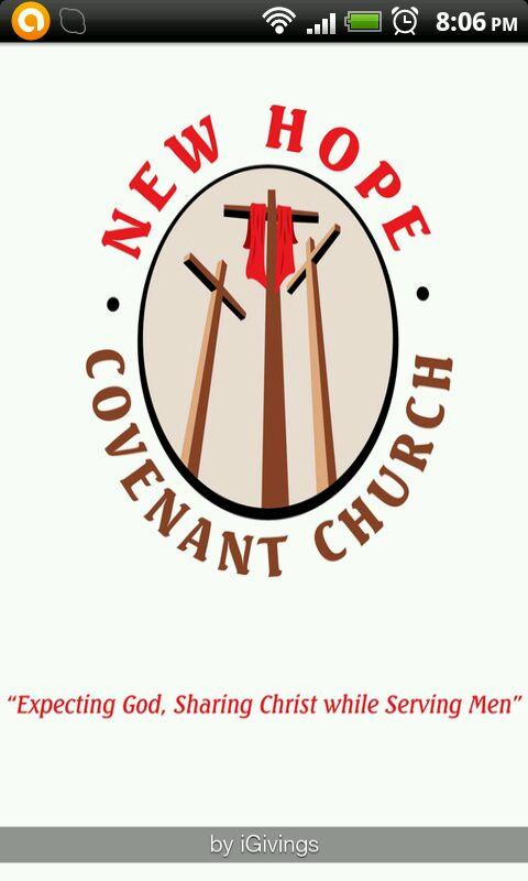 New Hope Covenant Church - screenshot