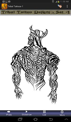 Tribal Tattoos Designs set-1