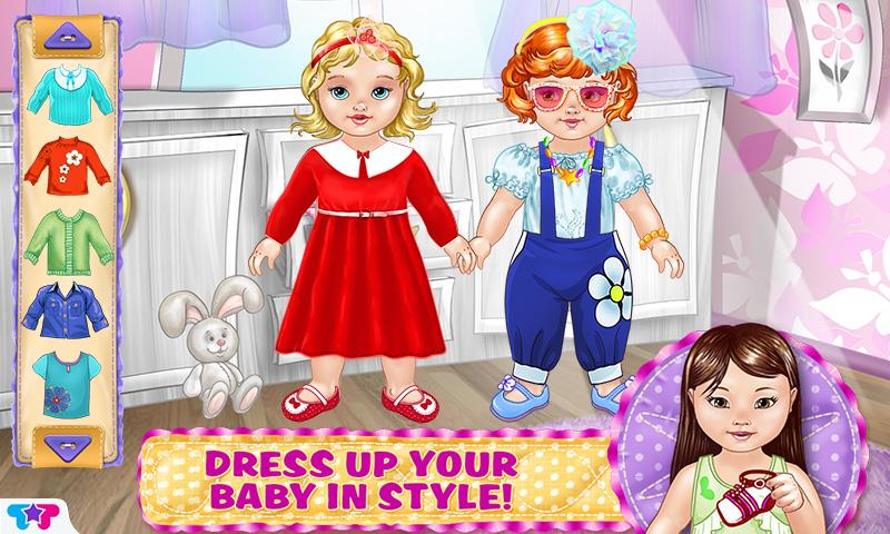 Design Dress Up Game Scene Girl Baby Care amp Dress Up Kids Game