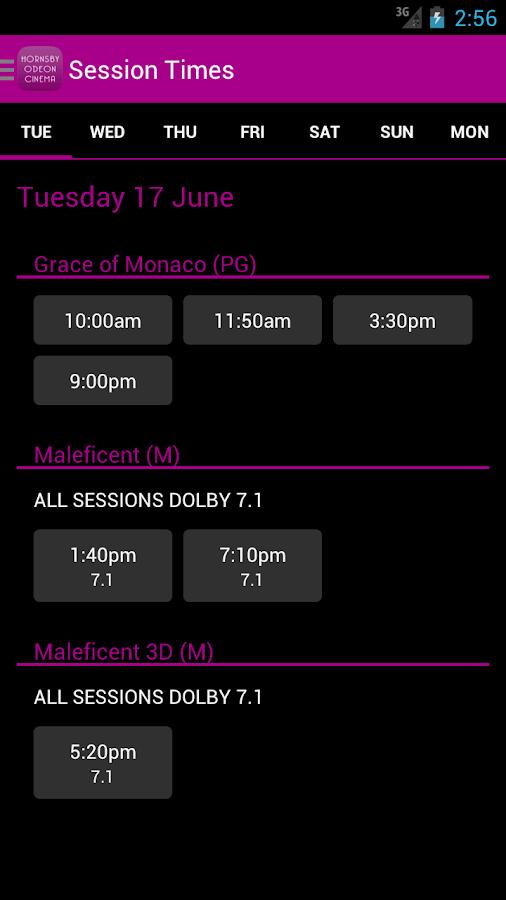 Hornsby Odeon Cinema - screenshot
