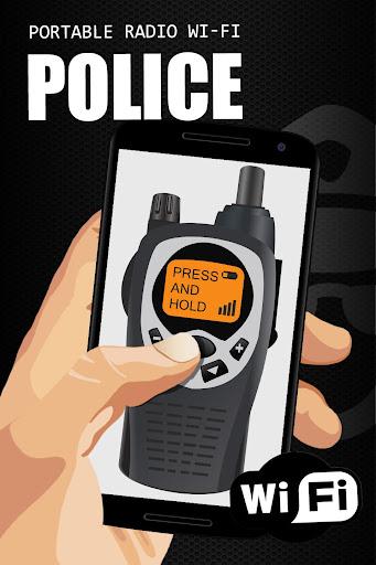 Police portable radio wi-fi