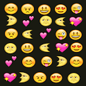 Emoji emotion keyboard icon