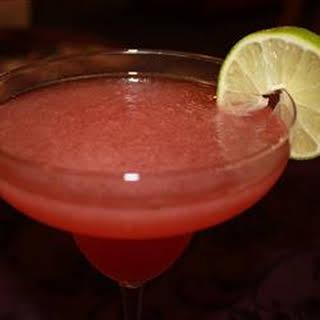 Pomegranate Margarita.