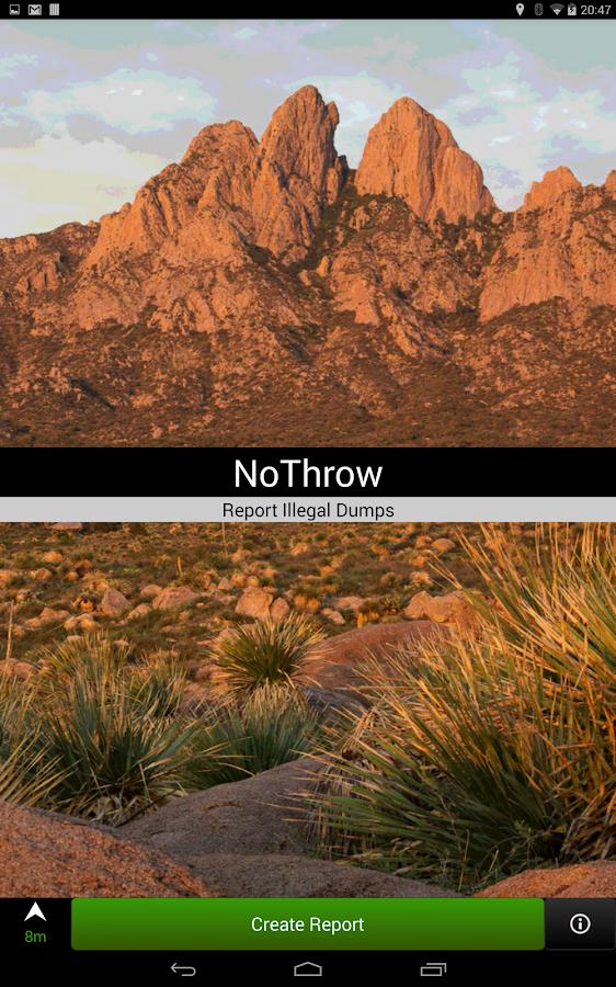 NoThrow - screenshot
