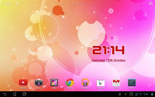 DIGI Clock Widget Plus for PC / Windows 7, 8, 10 / MAC Free