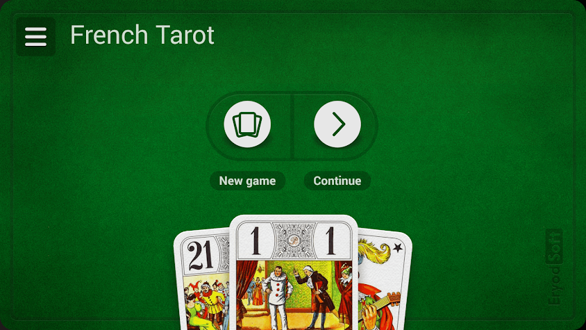 French Tarot Screenshot