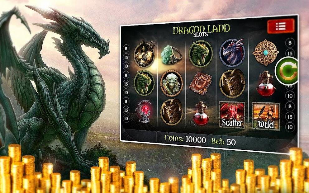 Bug scatter slot machine dragon
