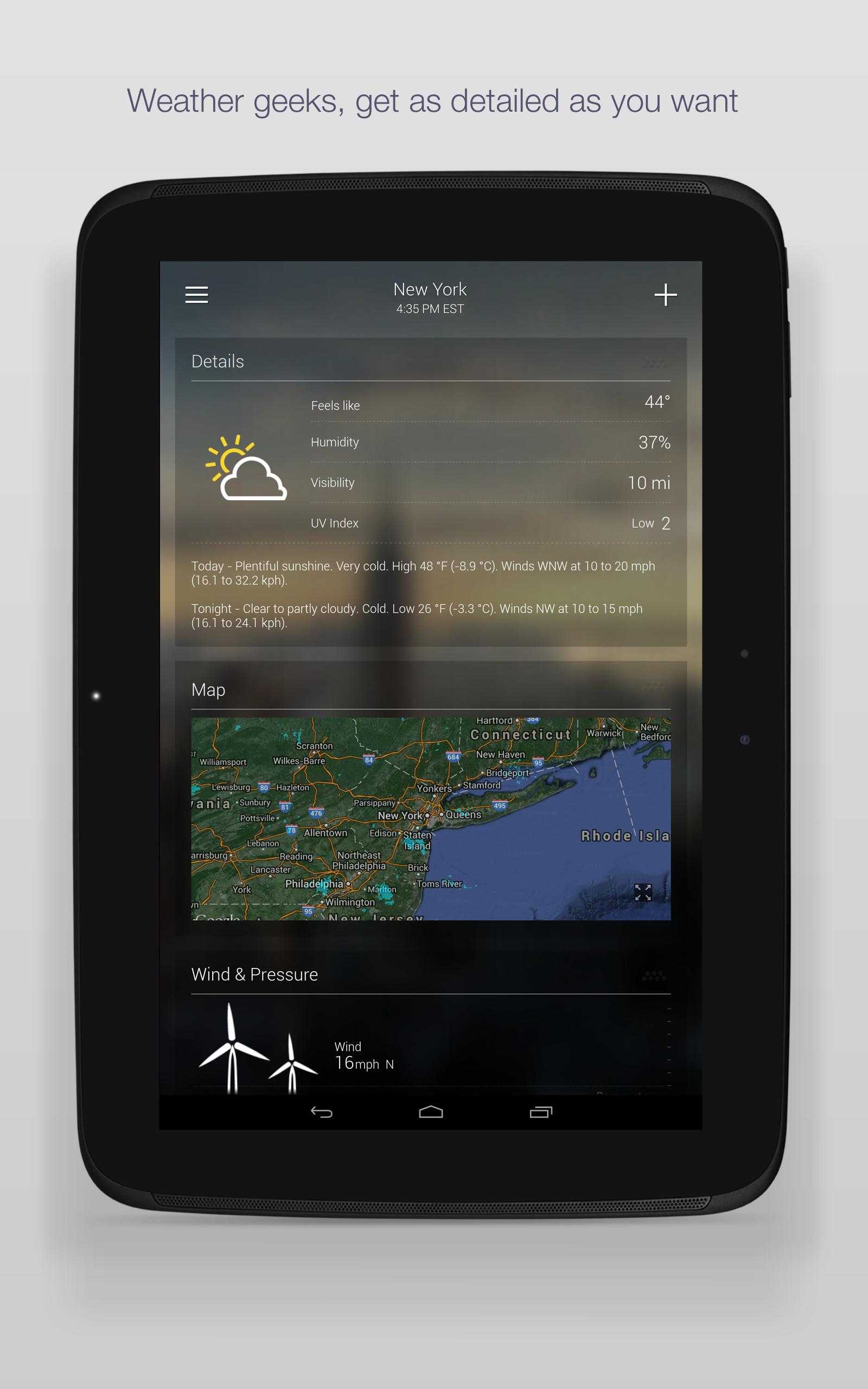 Yahoo Weather screenshot #8