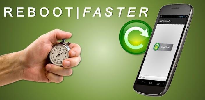 Fast Reboot, una herramienta muy útil que permite reiniciar rápidamente nuestro teléfono.               Ahora bien, ¿cómo lo hace? Lo que hace Fast Reebot es matar nuestro servidor gráfico y reiniciarlo sin apagar el móvil. Al iniciarse nos manda a la pantalla de inicio del móvil en el que deberemos introducir nuestro PIN y volverá aparecer el escritorio de aplicaciones sin necesidad de apagar el dispositivo. Es decir que en realidad no se reinicia el smartphone sino sólo las aplicaciones y procesos. Además, simula un reinicio al cerrar/reiniciar