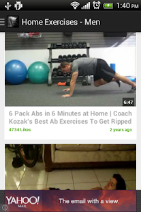 Home Exercises for men Free