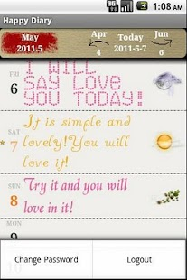 Happy Diary PLUS- screenshot thumbnail