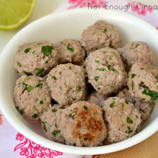 Creamy Coconut Meatballs {Paleo Friendly – Gluten Free} Recipe