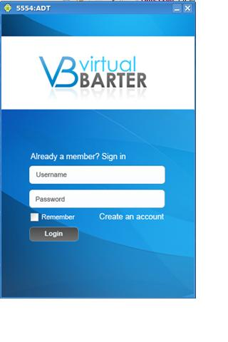 Virtual Barter- screenshot