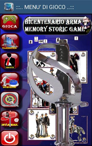 Storic Memory Game