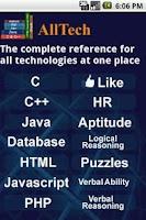 Screenshot of All Tech