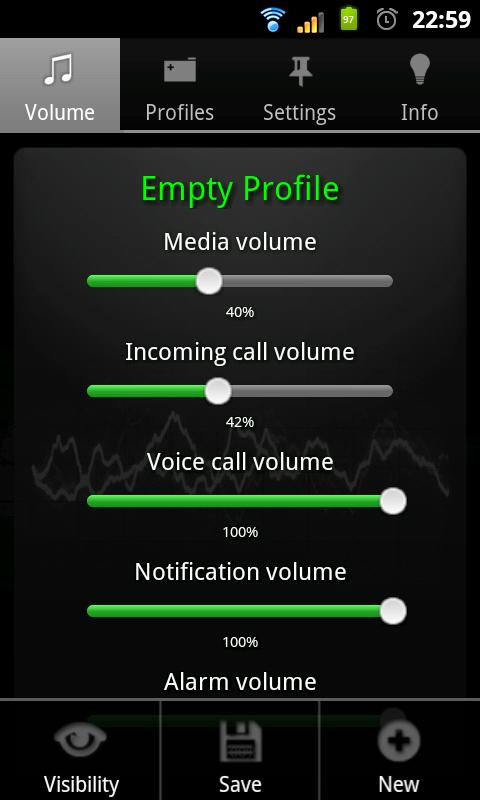 Just Volume Lite - screenshot