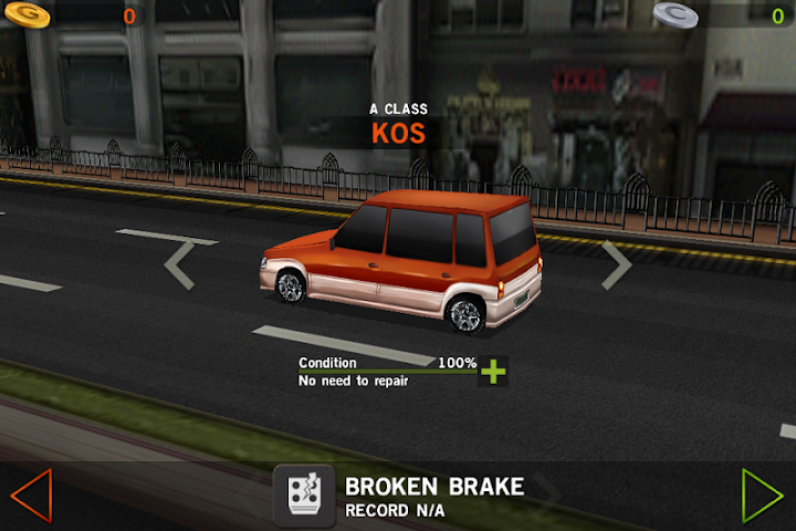 Dr. Driving Android App Screenshot