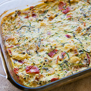 Zucchini Breakfast Casserole.