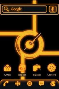 ADW Theme Glow Legacy Evil Pro- screenshot thumbnail