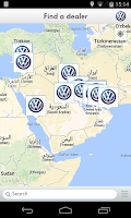 Screenshot of Volkswagen Service Emirates