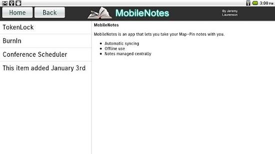 MobileNotes