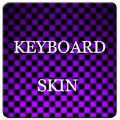 Violet Carbon Keyboard Skin