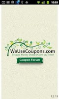 Screenshot of WeUseCoupons Coupon Forum