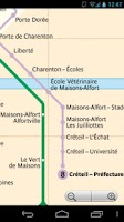 Screenshot of Paris Metro & RER & Tram Free