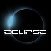 Eclipse Blue GO Launcher EX