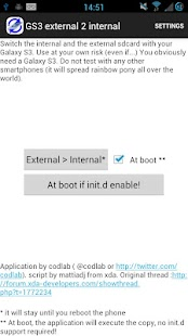 Root External 2 Internal SD