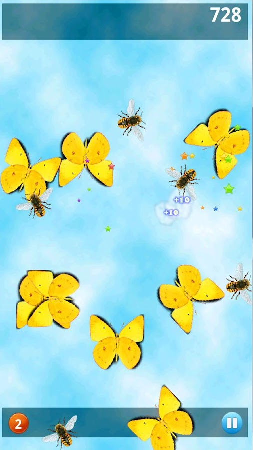 Butterfly Math Lite- screenshot