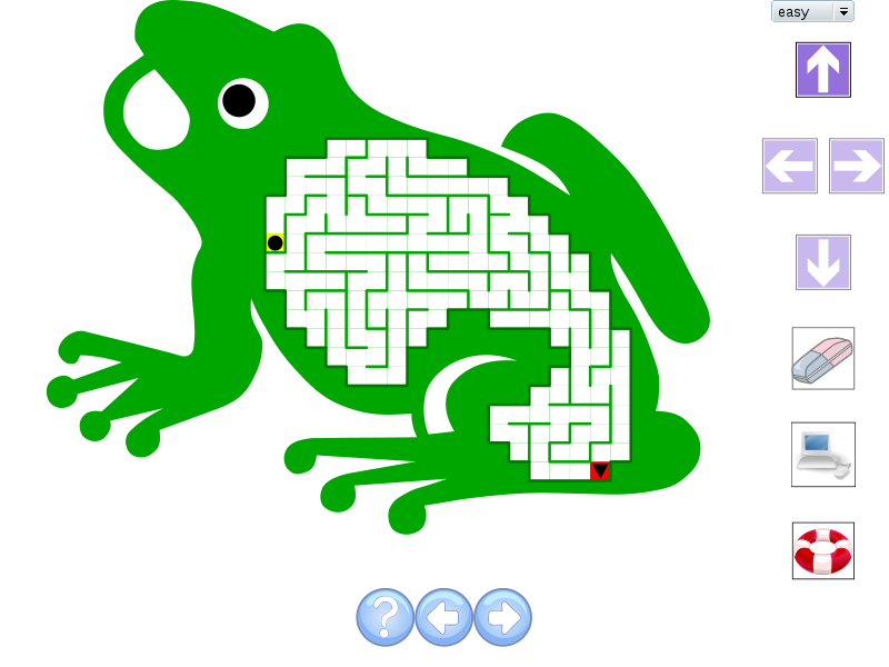SVG Mazes by Lukas Laag | Experiments with Google