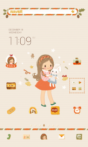 Gifts dodol launcher theme