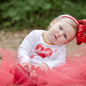 Sweet Heart by Michele Dan - Public Holidays Valentines Day ( hearts, red, valentines, baby girl, sweetheart, valentine )