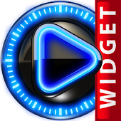 Poweramp Widget Glow Magic