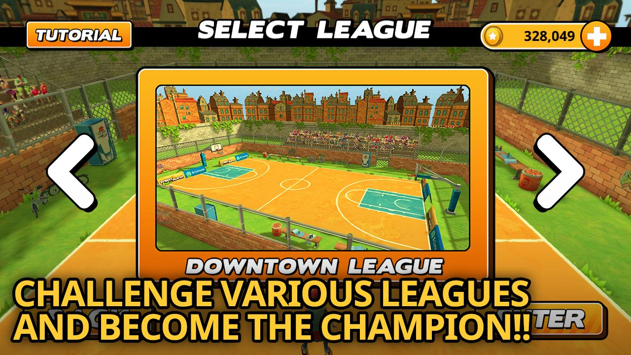 Street Dunk 3 on 3 Basketball - screenshot