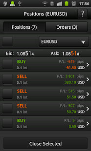 FXOpen TickTrader for Android- screenshot thumbnail