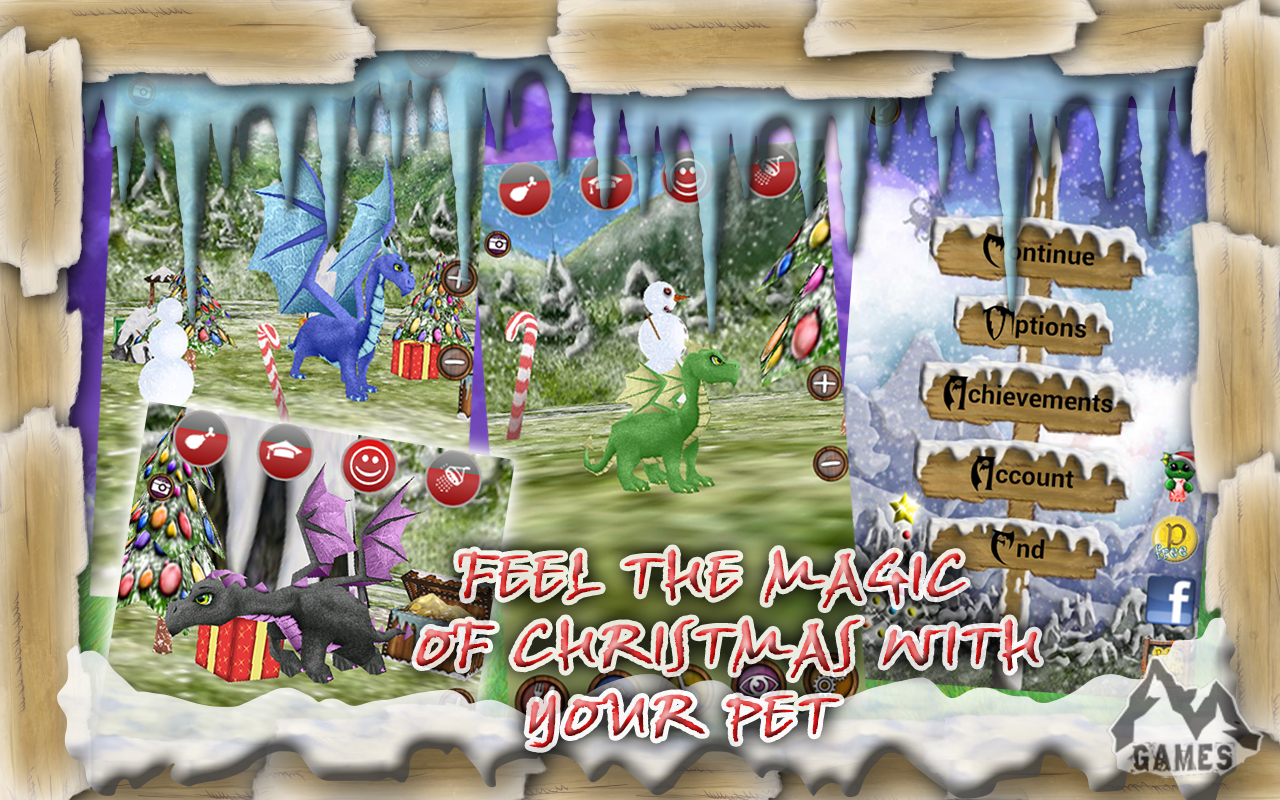 Dragon Pet: Christmas - screenshot