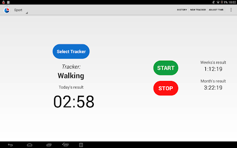 Simple Time Tracker FREE screenshot 8
